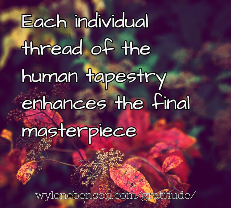 Gratitude for Fall Tapestry