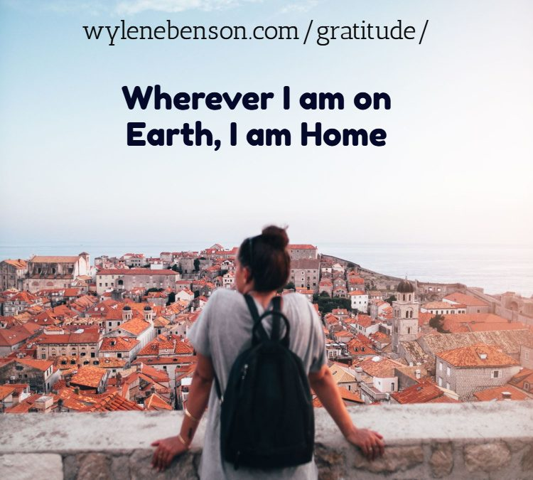 Gratitude for Our Earthly Home