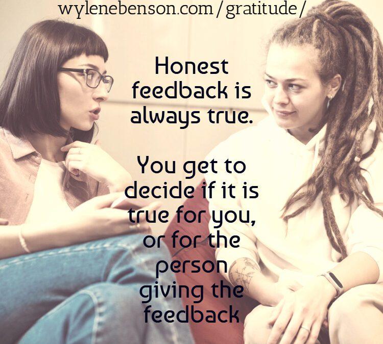 Gratitude for Honest Evaluation