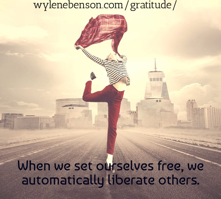 Gratitude for Being Set Free