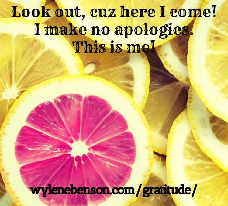 Gratitude for Trusting My Choices