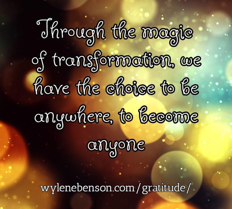Gratitude for Magic