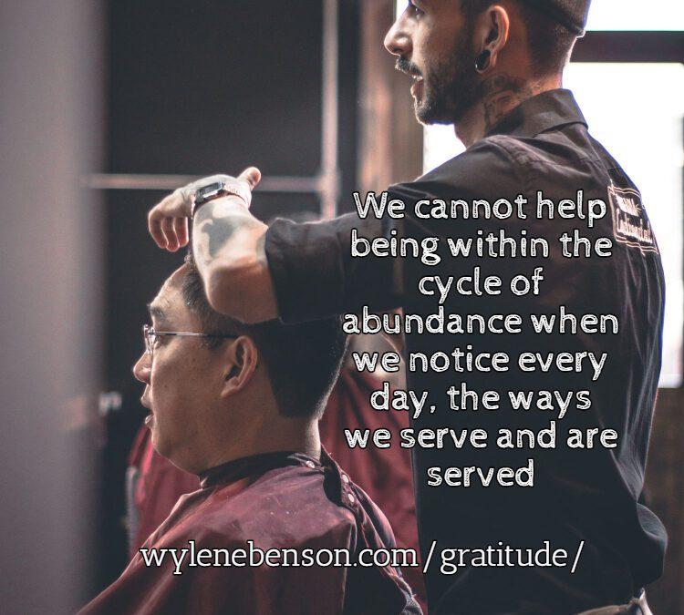 Gratitude for Service