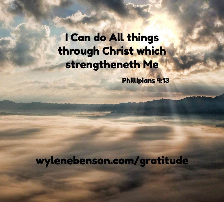 Gratitude For Sustaining Forces