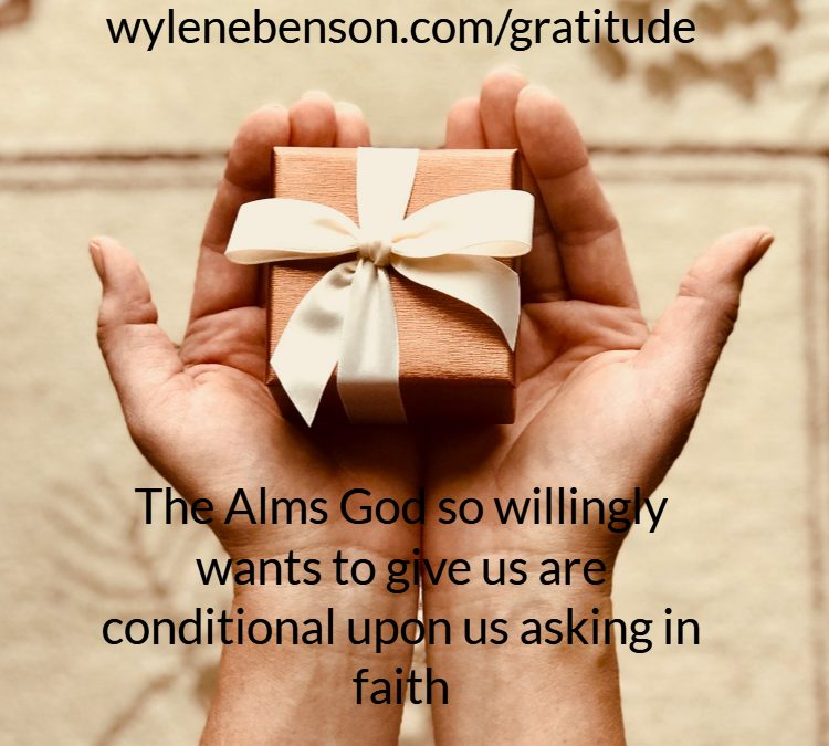 Gratitude For Drawing Upon God's Storehouse Of Resources