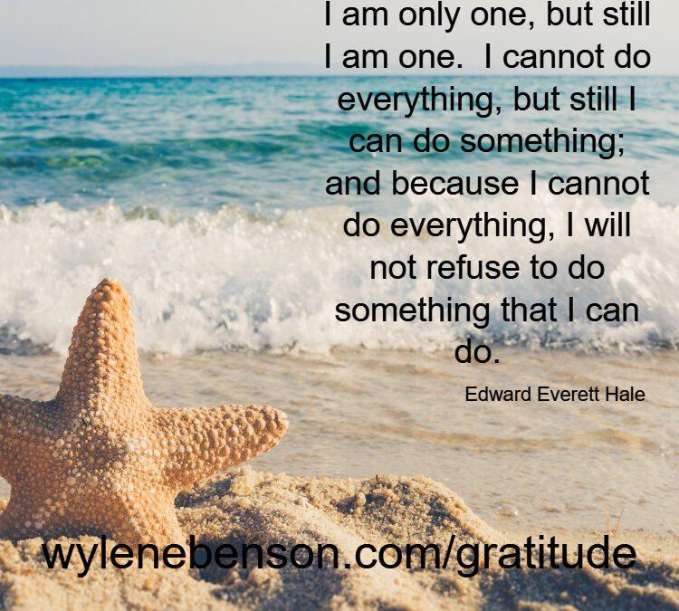 Gratitude For Feeling Of Family