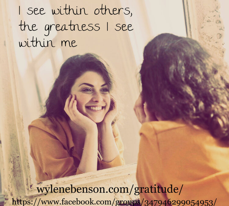 Gratitude for Personal Reflection