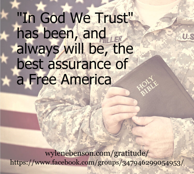 Gratitude for Remembering Freedom