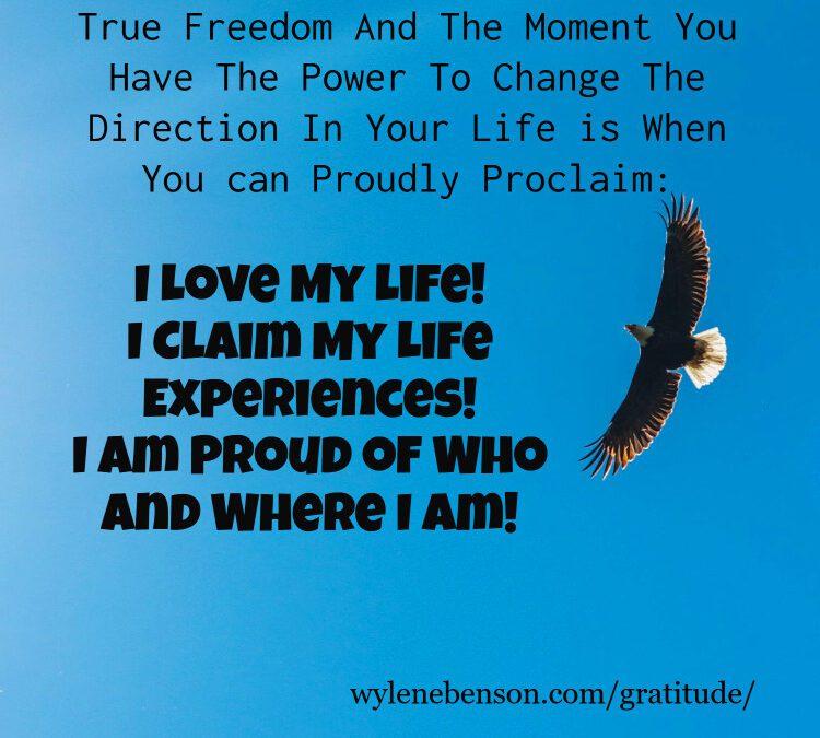 Gratitude for Embracing Life Experiences