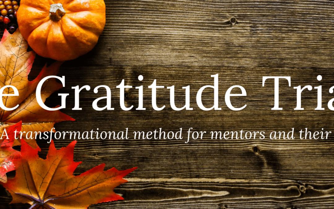 The Gratitude Triad – November 2020 Master Class