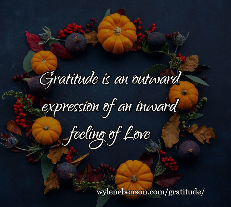Gratitude for the Benefits of Gratitude