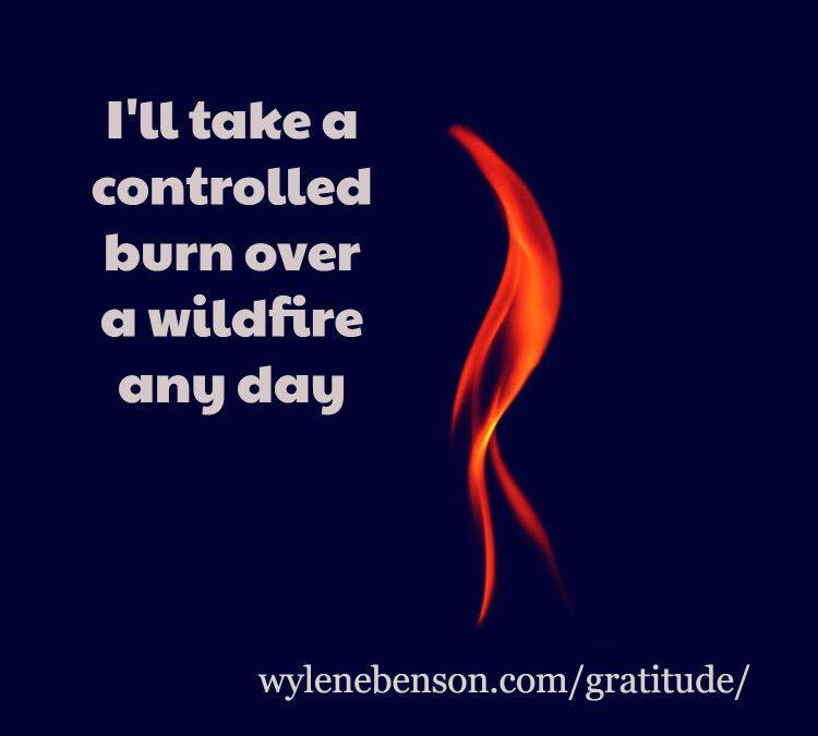 Gratitude for Fire